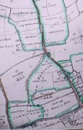 Thurleigh, Bedfordshire,  Enclosure Award map 1805